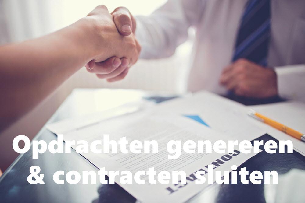 Opdrachten genereren en Contracten sluiten