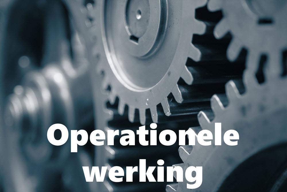 Operationele werking