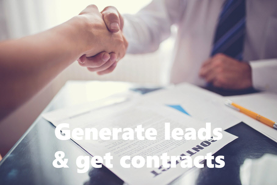 Generate leads and get contracts